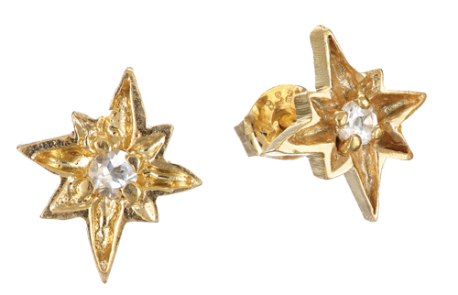 Chupi-Gold-Studs-I'd-be-lost-without-you-£160