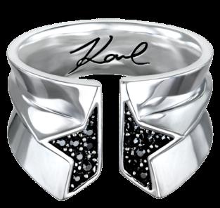 Karl-Lagerfeld-Ring,-£67,-Karl