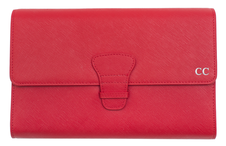 red-travel-wallet