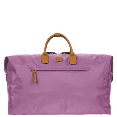 Bric's Lilac X Travel Medium Holdall @ www.caseluggage.com